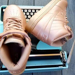 Vintage FILA Retro High-top Sneaker Rose Gold